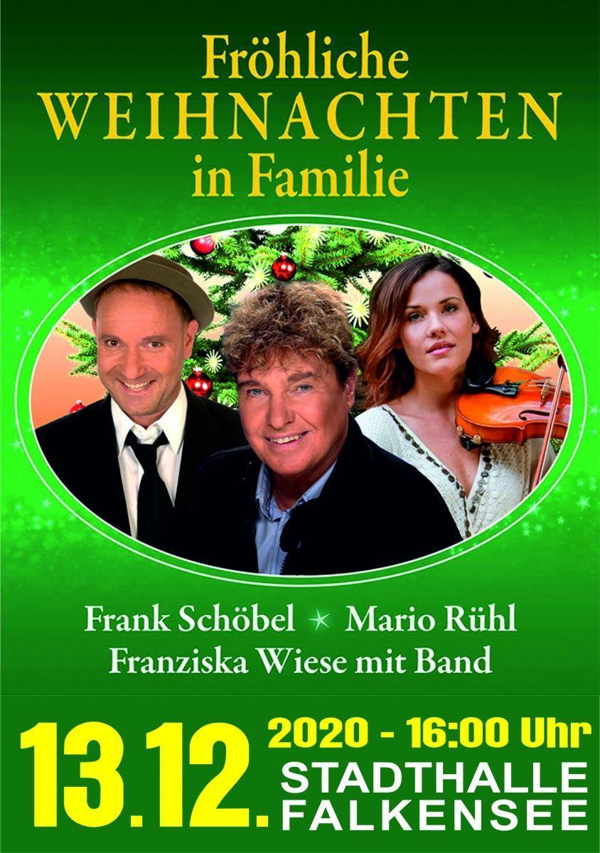 Fröhliche Weihnachten mit Frank Schöbel