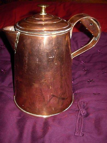 Home Coffee Roaster Hub Classified product photo for [For Sale] Copper Water Jug with Lid