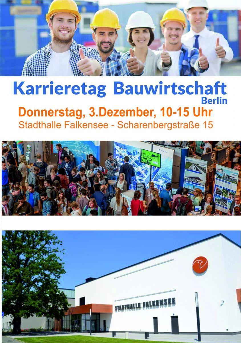 Karrieretag Bauwirtschaft Berlin/Brandenburg