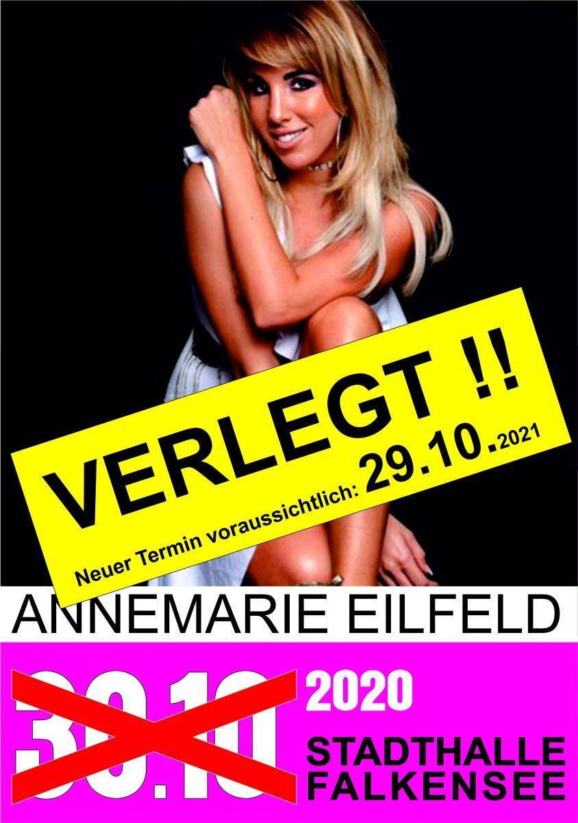 VERLEGT - Annemarie Eilfeld