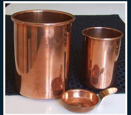 Copper Canisters and Scoop